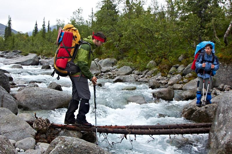 Hike-Rafting, randonnée à pied et en packraft