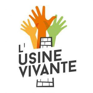 Logo Usine Vivante, tiers-lieu et espace de coworking à Crest