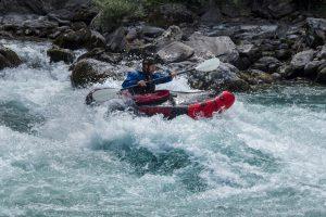 Topo de la Durance en packraft ou kayak gonflable
