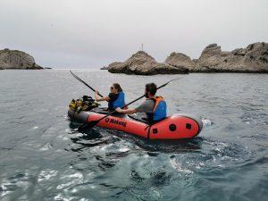 Découverte des calanques des Iles du Frioul en packraft ou en kayak gonflable_Mekong packraft